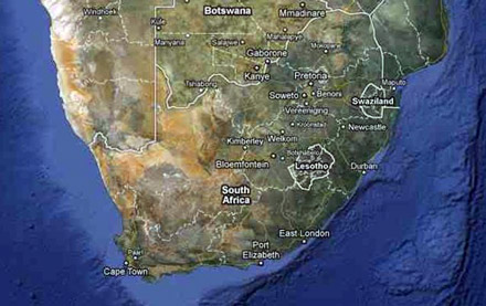 south-africa-map-klein